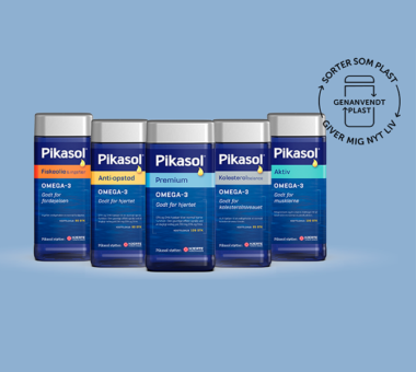 Hos Pikasol® har vi skiftet emballagen på vores produkter ud med en mere miljøvenlig en af slagsen – så er det nemlig lettere for dig som forbruger at tage et grønnere valg i hverdagen.